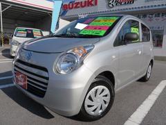 沖縄の中古車 スズキ アルトエコ 車両価格 56万円 リ済込 平成25年 6.6万K シルキーシルバーM
