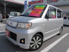沖縄の中古車 スズキ ワゴンR 車両価格 22万円 リ済込 平成20年 15.3万K シルキーシルバーメタリック