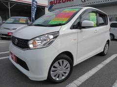 沖縄の中古車 日産 デイズ 車両価格 62万円 リ済込 平成26年 8.1万K ホワイト
