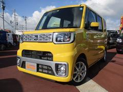 沖縄の中古車 ダイハツ ウェイク 車両価格 145万円 リ済別 平成26年 137K イエロー