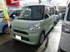 沖縄の中古車 ダイハツ タント 車両価格 130万円 リ済込 平成27年 0.4万K LグリーンM