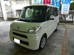 沖縄の中古車 ダイハツ タント 車両価格 129万円 リ済別 平成28年 0.6万K パールIII