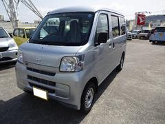 沖縄の中古車 ダイハツ ハイゼットカーゴ 車両価格 99万円 リ済別 平成26年 0.4万K グレーM