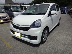 沖縄の中古車 ダイハツ ミライース 車両価格 95万円 リ済別 平成28年 0.4万K ホワイト