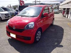 沖縄の中古車 ダイハツ ミライース 車両価格 79万円 リ済別 平成28年 7K レッド