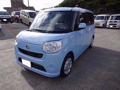 沖縄の中古車 ダイハツ ムーヴキャンバス 車両価格 143万円 リ済別 平成28年 52K ライトブルーM