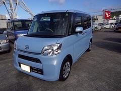 沖縄の中古車 ダイハツ タント 車両価格 114万円 リ済別 平成28年 608K ライトブルーM
