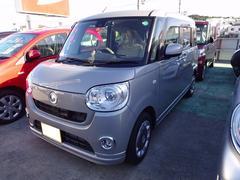 沖縄の中古車 ダイハツ ムーヴキャンバス 車両価格 162万円 リ済別 平成28年 0.1万K ライトグレーM