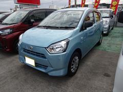 沖縄の中古車 ダイハツ ミライース 車両価格 95万円 リ済別 平成29年 0.3万K ライトブルーM