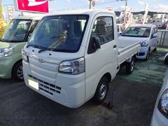 沖縄の中古車 ダイハツ ハイゼットトラック 車両価格 82万円 リ済別 平成29年 8K ホワイト