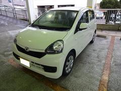 沖縄の中古車 ダイハツ ミライース 車両価格 82万円 リ済別 平成28年 0.6万K ホワイト