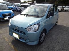 沖縄の中古車 ダイハツ ミライース 車両価格 92万円 リ済別 平成29年 0.2万K ライトブルーM