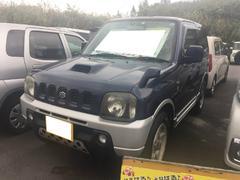 沖縄の中古車 スズキ ジムニー 車両価格 26万円 リ済込 平成12年 13.2万K 紺