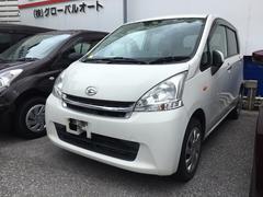 沖縄の中古車 ダイハツ ムーヴ 車両価格 66万円 リ済込 平成24年 7.8万K ホワイト