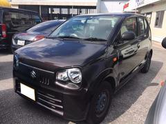 沖縄の中古車 スズキ アルト 車両価格 75万円 リ済込 平成28年 0.6万K Dブラウン
