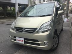 沖縄の中古車 ダイハツ ムーヴ 車両価格 41万円 リ済込 平成21年 9.0万K ベージュ