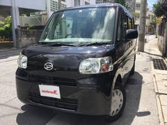 沖縄の中古車 ダイハツ タント 車両価格 43万円 リ済込 平成22年 11.1万K ブラック