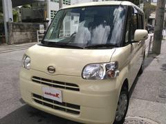沖縄の中古車 ダイハツ タント 車両価格 45万円 リ済込 平成22年 10.5万K クリームホワイト