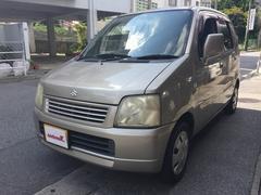 沖縄の中古車 スズキ ワゴンR 車両価格 14万円 リ済込 平成14年 15.8万K シャンパンゴールド