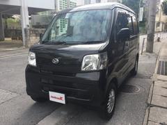 沖縄の中古車 ダイハツ ハイゼットカーゴ 車両価格 47万円 リ済込 平成23年 13.5万K ブラックM