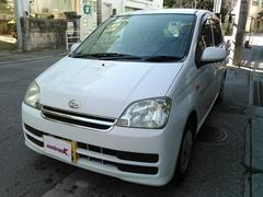 沖縄の中古車 ダイハツ ミラ 車両価格 10万円 リ済込 平成18年 16.7万K ホワイト