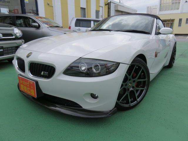 BMW Z4 2.5i 18インチAW 車高調 社外Fスポイラー ...