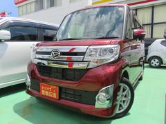 沖縄の中古車 ダイハツ タント 車両価格 120万円 リ済別 平成26年 4.9万K レッド