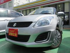 沖縄の中古車 スズキ スイフト 車両価格 89万円 リ済別 平成26年 0.4万K シルバー