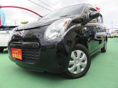 沖縄の中古車 スズキ アルト 車両価格 59万円 リ済別 平成24年 2.0万K ブラック