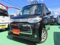 沖縄の中古車 ダイハツ タント 車両価格 95万円 リ済別 平成24年 3.8万K ブラック