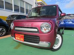 沖縄の中古車 スズキ アルトラパンショコラ 車両価格 119万円 リ済別 平成26年 2.4万K カシスピンク