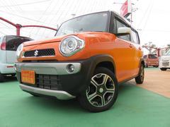 沖縄の中古車 スズキ ハスラー 車両価格 110万円 リ済別 平成26年 2.4万K オレンジII