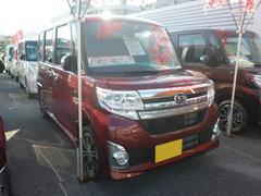 沖縄の中古車 ダイハツ タント 車両価格 166万円 リ済別 平成27年 0.7万K レッド