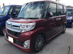 沖縄の中古車 ダイハツ タント 車両価格 163万円 リ済別 平成27年 0.6万K レッド