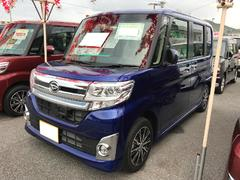 沖縄の中古車 ダイハツ タント 車両価格 167万円 リ済別 平成27年 0.7万K ブルー