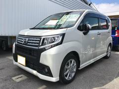沖縄の中古車 ダイハツ ムーヴ 車両価格 136万円 リ済別 平成27年 0.3万K パールホワイト