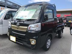 沖縄の中古車 ダイハツ ハイゼットトラック 車両価格 116万円 リ済別 平成28年 0.1万K ブラック