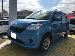 沖縄の中古車 ダイハツ ブーン 車両価格 131万円 リ済別 平成28年 0.6万K ブルー