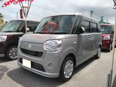 沖縄の中古車 ダイハツ ムーヴキャンバス 車両価格 140万円 リ済別 平成28年 739K シルバー
