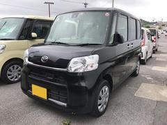 沖縄の中古車 ダイハツ タント 車両価格 127万円 リ済別 平成28年 0.6万K ブラック