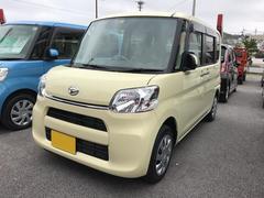 沖縄の中古車 ダイハツ タント 車両価格 134万円 リ済別 平成28年 773K ライトイエロー