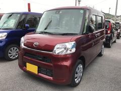 沖縄の中古車 ダイハツ タント 車両価格 140万円 リ済別 平成28年 0.3万K レッド
