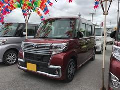沖縄の中古車 ダイハツ タント 車両価格 169万円 リ済別 平成28年 0.5万K レッド