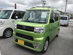 沖縄の中古車 ダイハツ ウェイク 車両価格 155万円 リ済別 平成29年 702K グリーンM