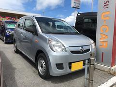 沖縄の中古車 ダイハツ ミラ 車両価格 76万円 リ済別 平成26年 1.1万K シルバー