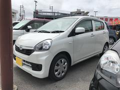 沖縄の中古車 ダイハツ ミライース 車両価格 97万円 リ済別 平成28年 0.6万K パールホワイト