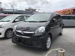 沖縄の中古車 ダイハツ ミライース 車両価格 83万円 リ済別 平成26年 2.5万K ブラック