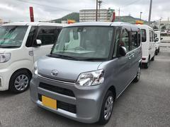 沖縄の中古車 ダイハツ タント 車両価格 140万円 リ済別 平成28年 0.4万K シルバー