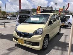 沖縄の中古車 ダイハツ ミライース 車両価格 102万円 リ済別 平成28年 6K ライトイエロー