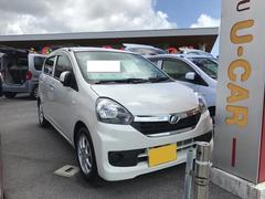 沖縄の中古車 ダイハツ ミライース 車両価格 107万円 リ済別 平成27年 0.3万K パールホワイト